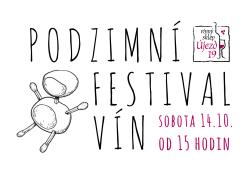 PODZIMNÍ FESTIVAL VÍN - SOBOTA 14.10.2017 OD 15H