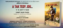 A TAK TEDY JDU... - Křest knihy Jiřího Dynybila